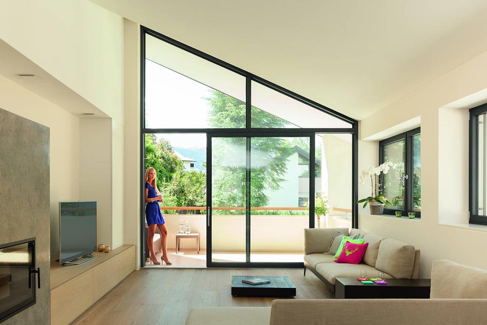 baie vitre accordon elegant porte et fentre accordon with. Black Bedroom Furniture Sets. Home Design Ideas