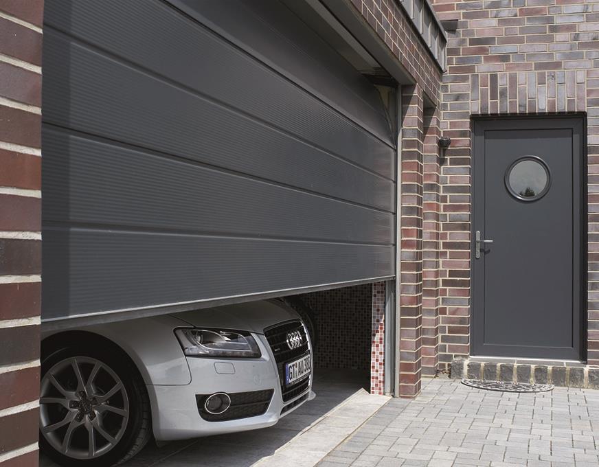 Portes de garage sectionnelles basculantes luxembourg - Portes de garage sectionnelles motorisees ...